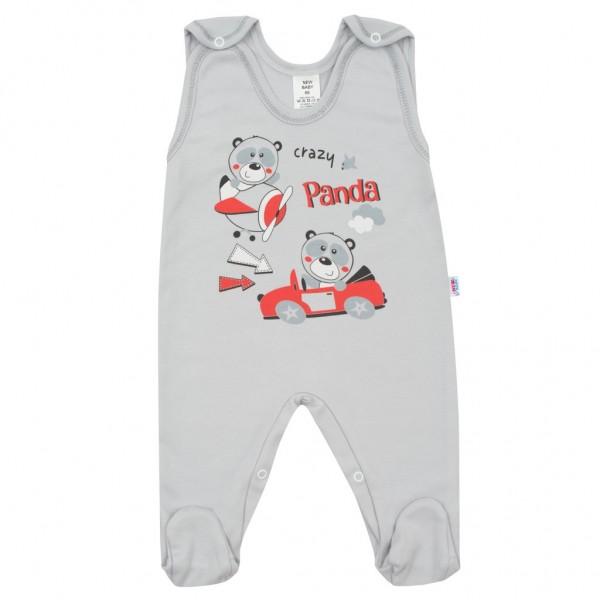 Kojenecké dupačky New Baby Crazy Panda 62 (3-6m)