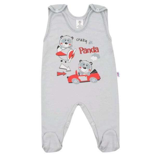 Kojenecké dupačky New Baby Crazy Panda 86 (12-18m)