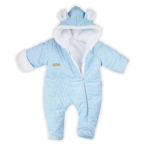 Zimní kojenecký overal Nicol Kids Winter modrý 56 (0-3m)