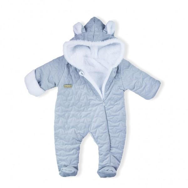 Zimní kojenecký overal Nicol Kids Winter šedý 62 (3-6m)