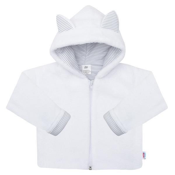 Luxusní dětský zimní kabátek s kapucí New Baby Snowy collection 56 (0-3m)