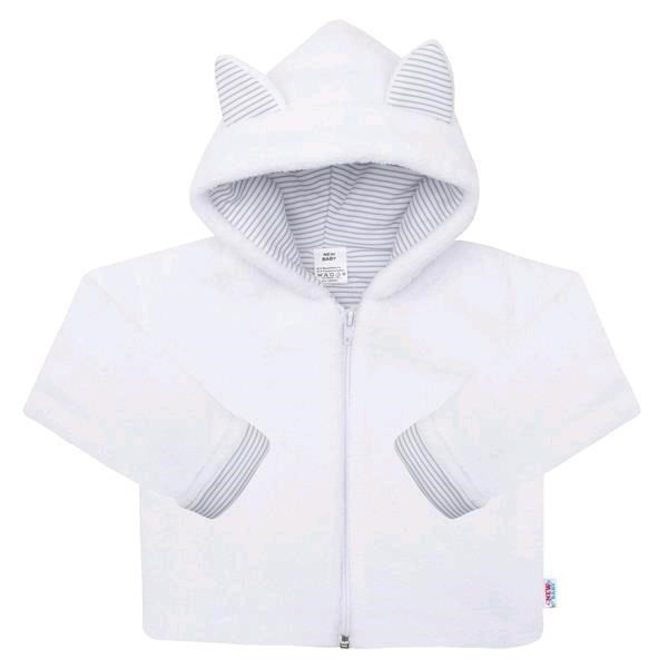Luxusní dětský zimní kabátek s kapucí New Baby Snowy collection 68 (4-6m)