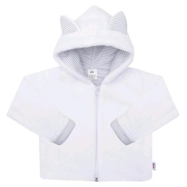 Luxusní dětský zimní kabátek s kapucí New Baby Snowy collection 74 (6-9m)