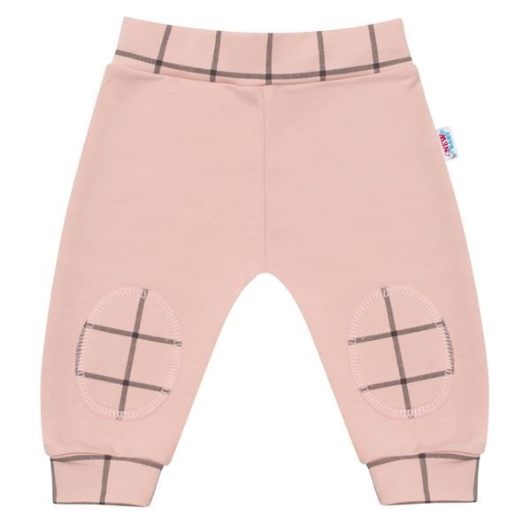 Kojenecké bavlněné tepláčky New Baby Cool růžové 62 (3-6m)