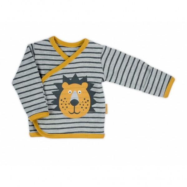 Kojenecká bavlněná košilka Nicol Prince Lion 56 (0-3m)