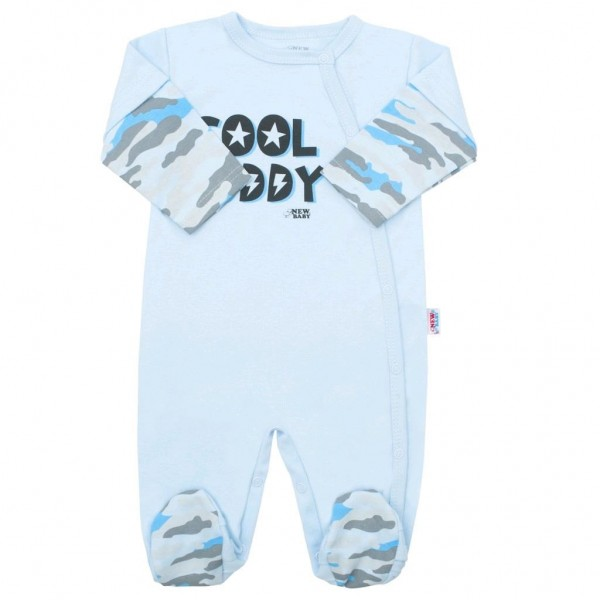 Kojenecký overal New Baby With Love modrý 74 (6-9m)