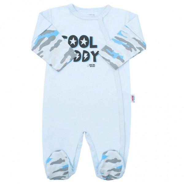 Kojenecký overal New Baby With Love modrý 80 (9-12m)
