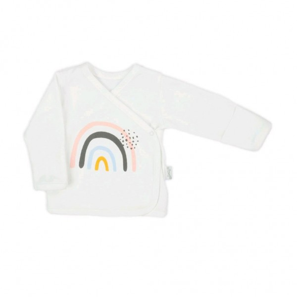 Kojenecká bavlněná košilka Nicol Rainbow 62 (3-6m)