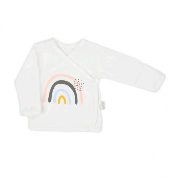 Kojenecká bavlněná košilka Nicol Rainbow 68 (4-6m)