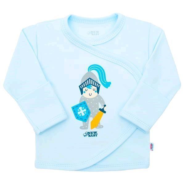 Kojenecká bavlněná košilka New Baby Knight 56 (0-3m)
