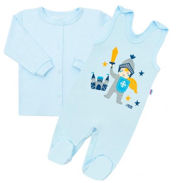 2-dílná kojenecká bavlněná soupravička New Baby Knight 56 (0-3m)