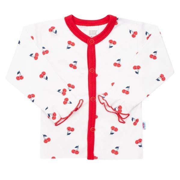 Kojenecký bavlněný kabátek New Baby Cherry 56 (0-3m)
