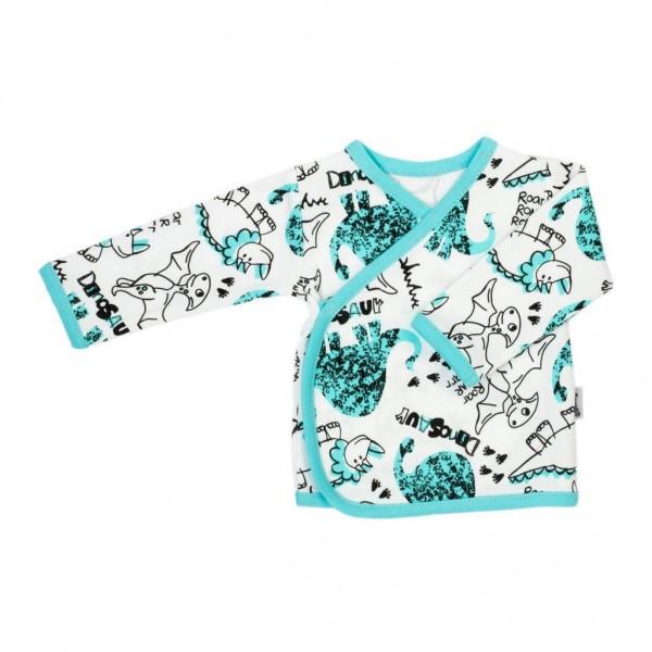 Kojenecká bavlněná košilka Nicol Dinosaur 56 (0-3m)