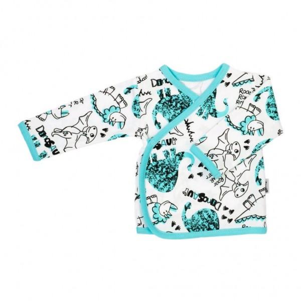 Kojenecká bavlněná košilka Nicol Dinosaur 62 (3-6m)