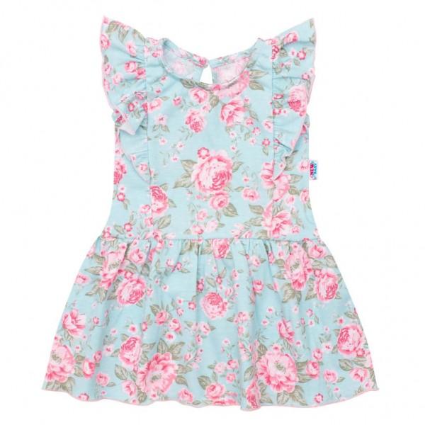 Kojenecké letní bavlněné šatičky New Baby Roses 86 (12-18m)