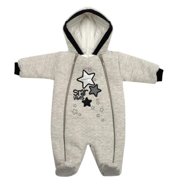 Zimní kojenecká kombinéza s kapucí Koala Star Vibes 56 (0-3m)