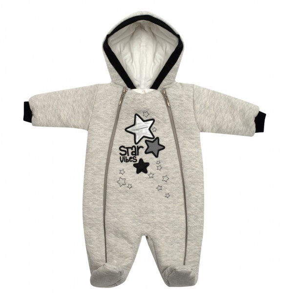 Zimní kojenecká kombinéza s kapucí Koala Star Vibes 62 (3-6m)